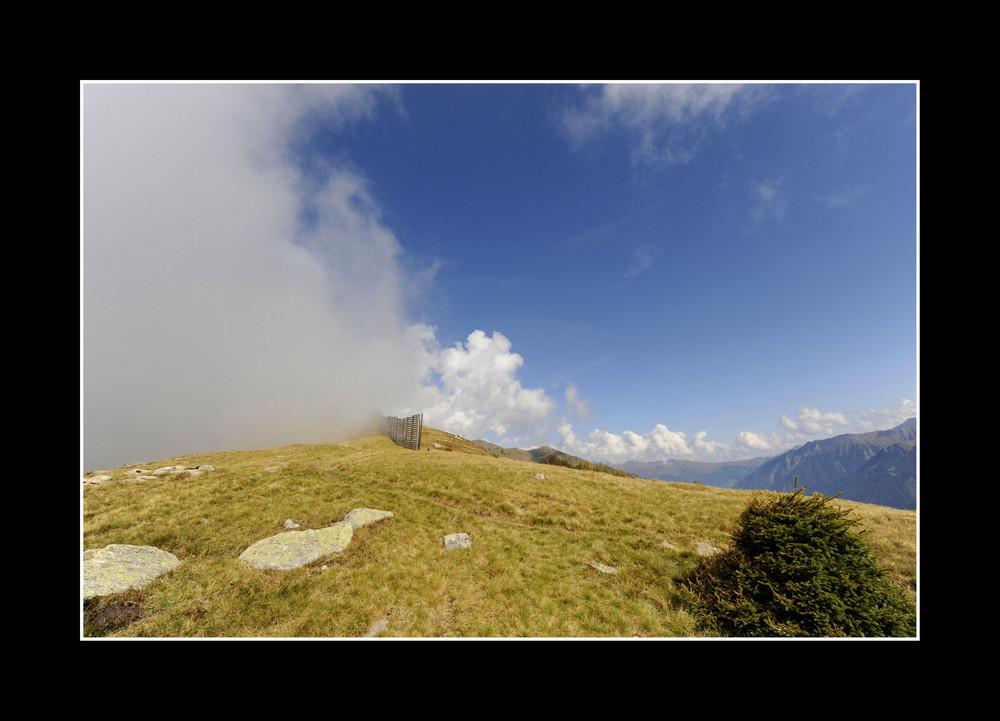 Wetterwechsel in Südtirol