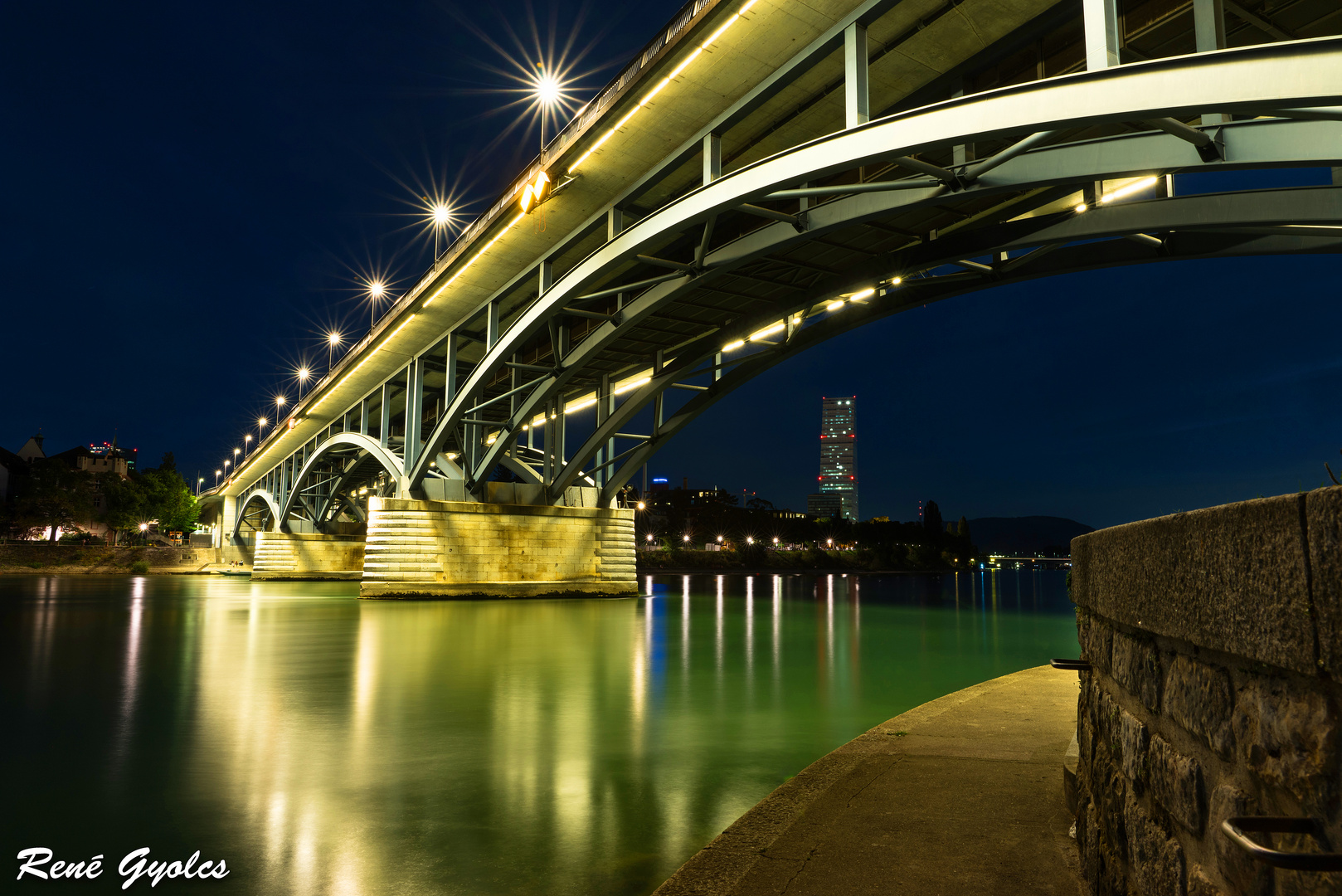 Wettsteinbr cke foto bild architektur architektur bei for Architektur basel