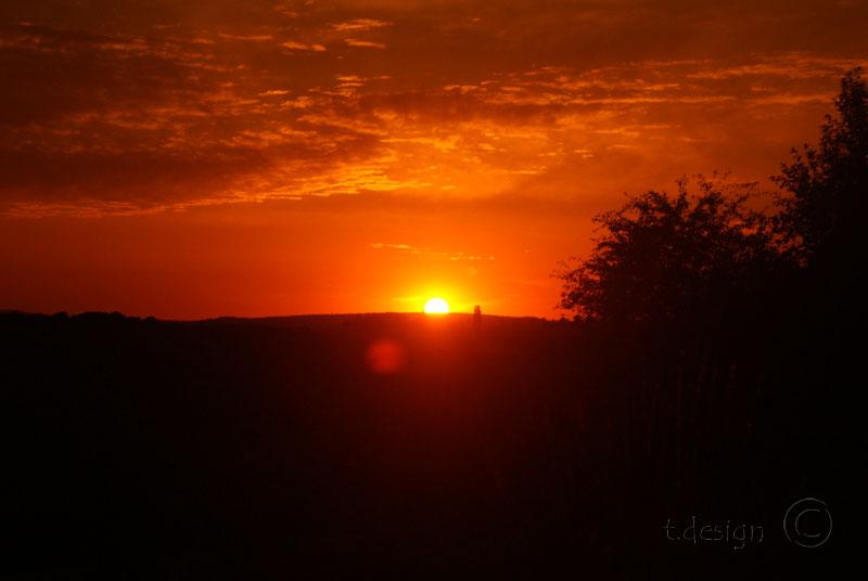 wettstetten sunset