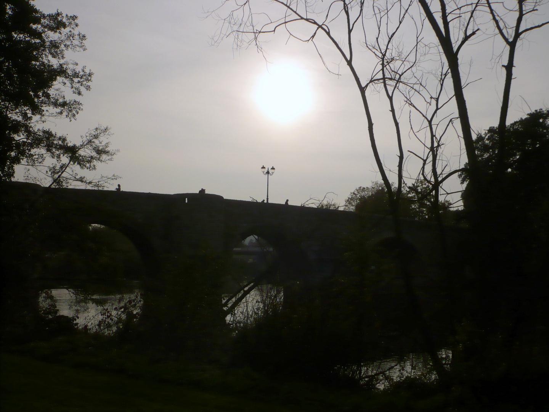 Wetzlar : Brücke bei Nacht