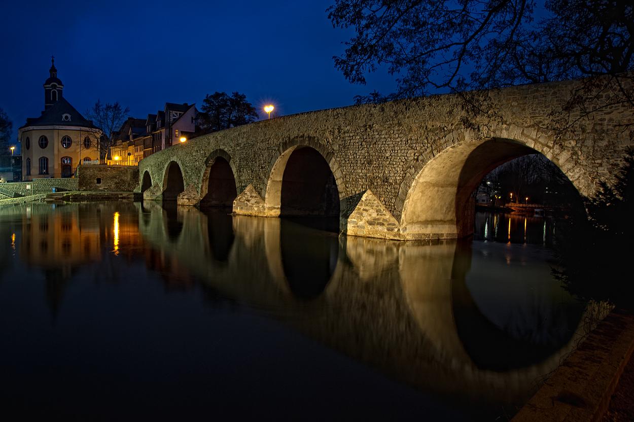 Wetzlar - die alte Lahnbrücke