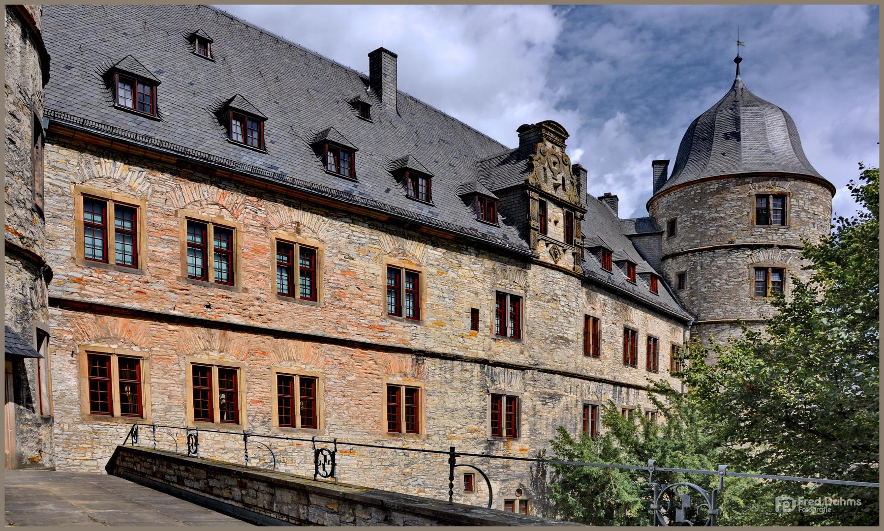 Wewelsburg, Bergschloss im Stadtteil Wewelsburg