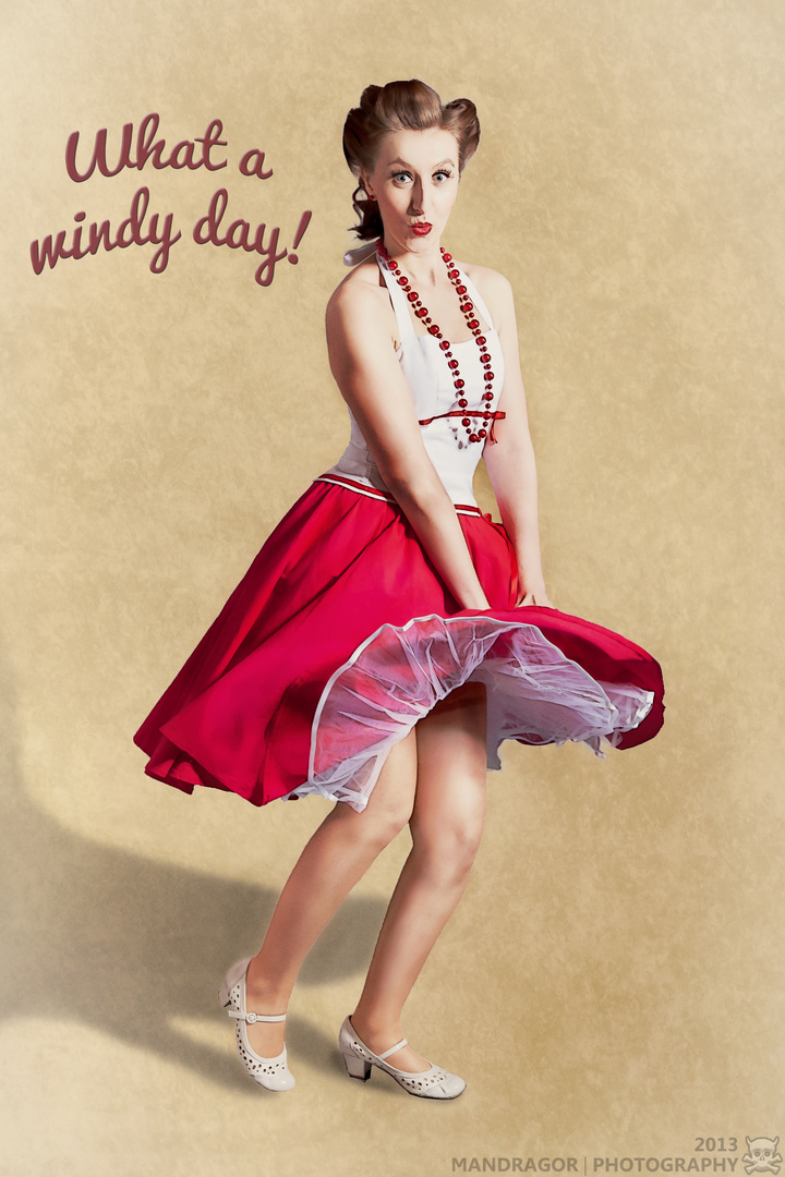 What a windy day!