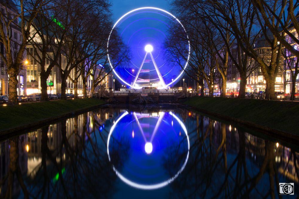 Wheel of Vision an der Kö