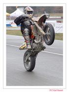 Wheelie beim Super Moto in Harsewinkel