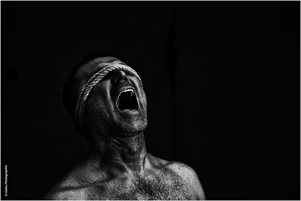when a blind man cries