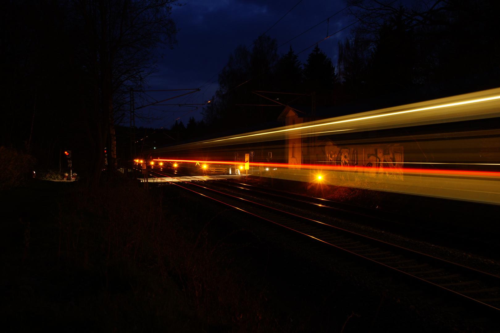 when a train passes