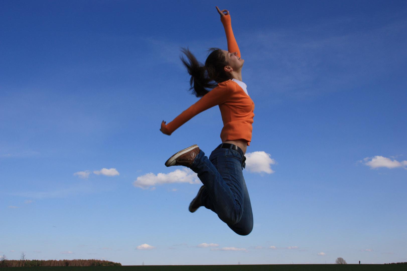 When I say jump