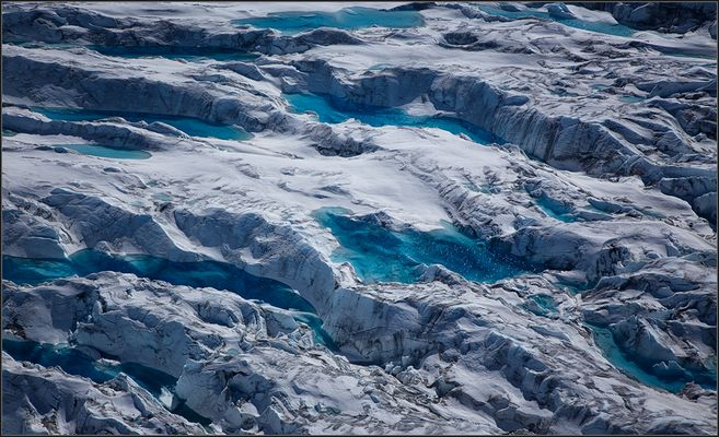 When the Glacier Weeps ...
