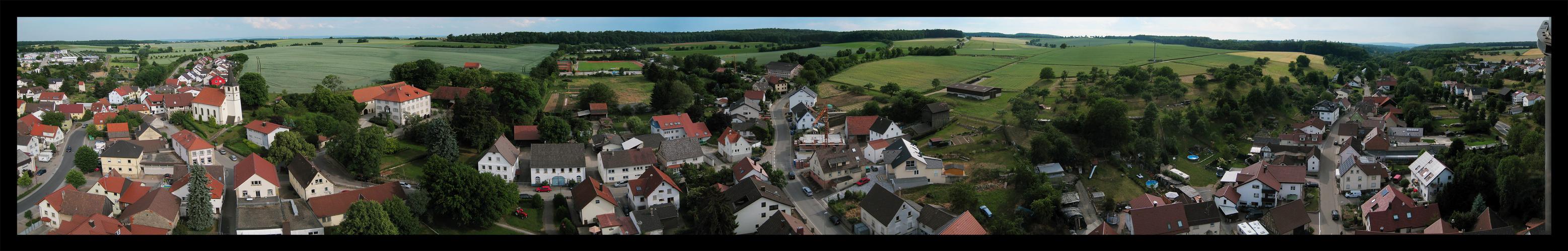 Where I´m at now.... oder: Obergimpern, der Nabel der Welt (LOL)