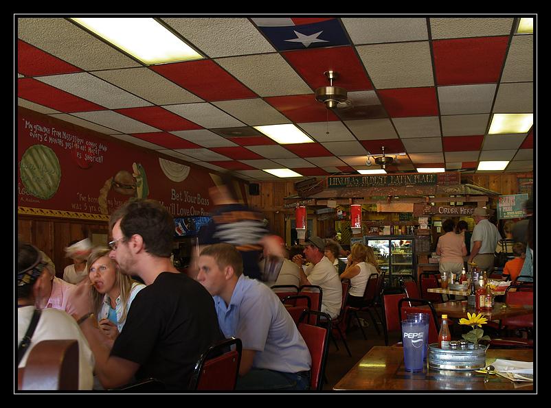 Where last men eat.....