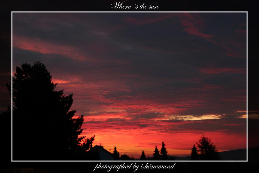Where´s the sun 1