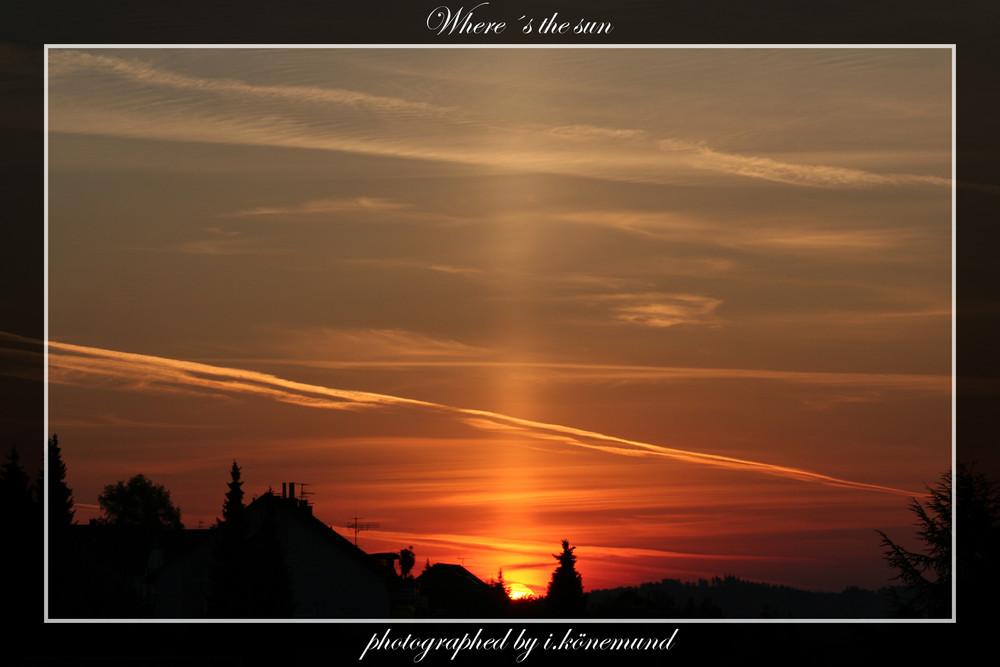 Where´s the sun 2