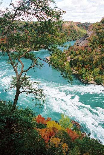 Whirl-Pool - aufgenommen in der Nähe der Niagarafälle