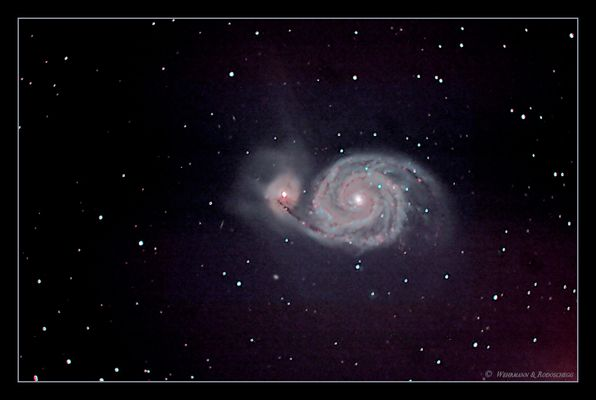 Whirlpool-Galaxie [M51 & NGC5195]