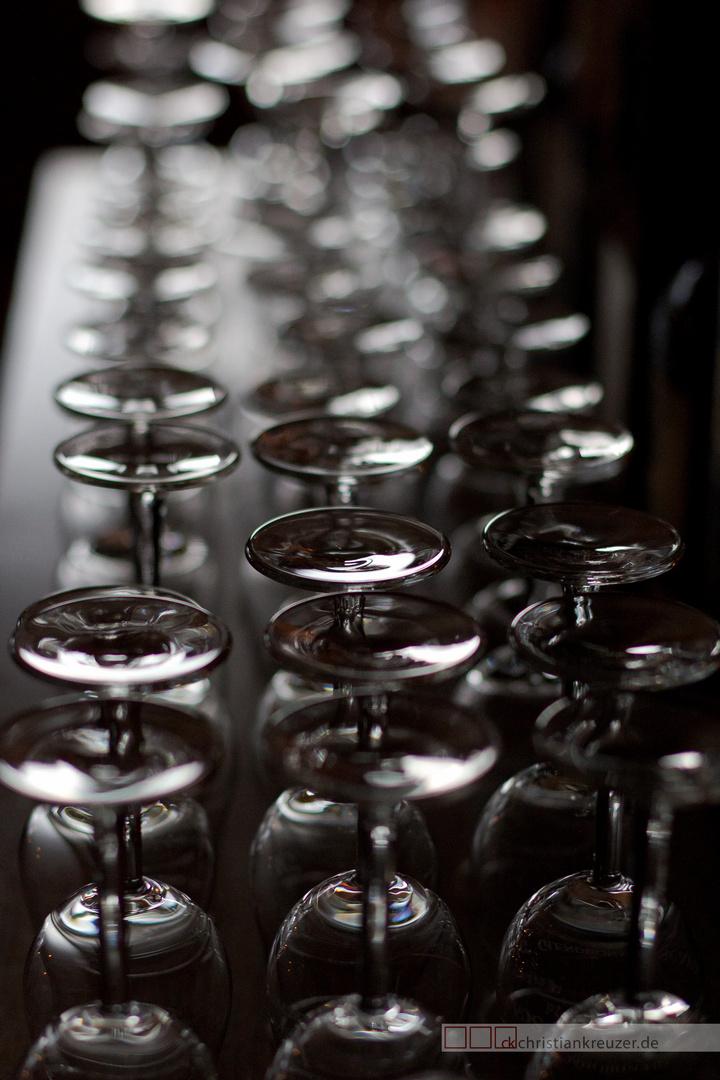 Whisky Gläser bei einem Tasting