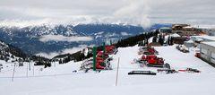 Whistler Mountain Skiing Resort
