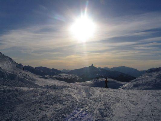 Whistler summit