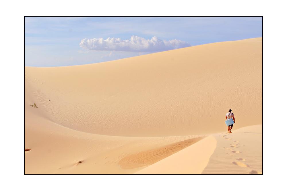 White Dunes in Mui Ne - Vietnam