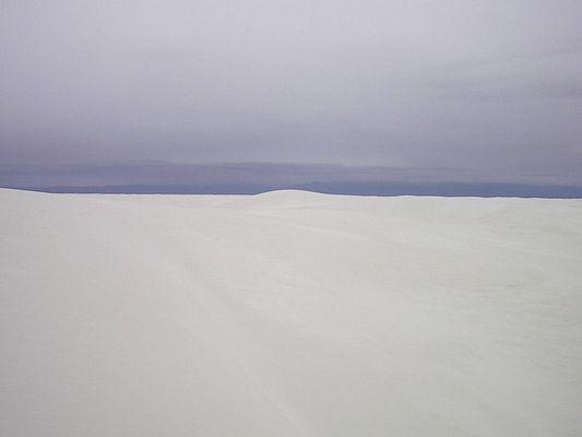 White Sands Blue Sky