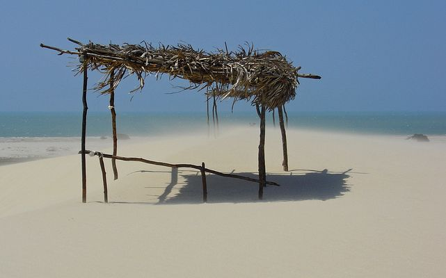 White sands of Brazil