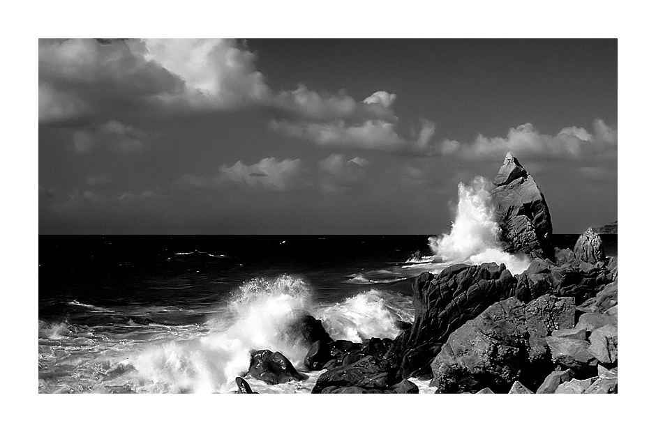 White Wave #3 B&W