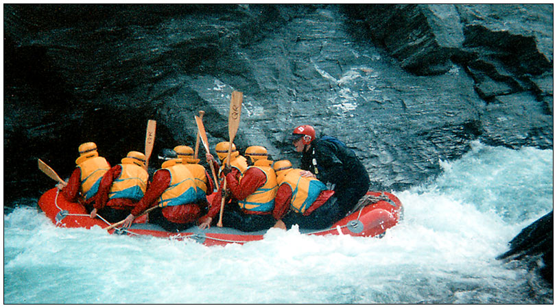 Whitewater Rafting...