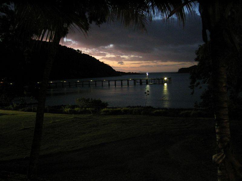 Whitsundays bei Nacht