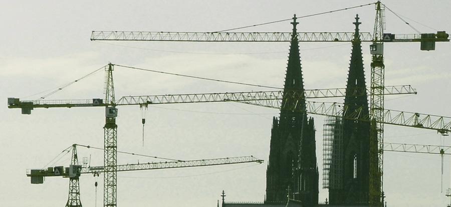 Wichtige Bauwerke in Köln