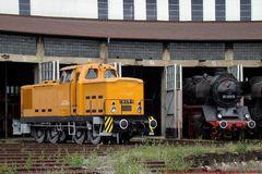 Wie bei der alten Eisenbahn..