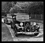 wie dazumal - Ausfahrt der alten Autos