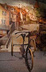 Wie dazumal: Dreirad
