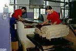 Wie dazumal - Herstellung von Büttenpapier Teil 2