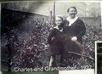 wie Dazumal - meine Oma und mein Kusin Charles 1932
