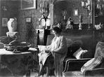 *wie dazumal*  -  Omi Antoinette im Salon ca.1928