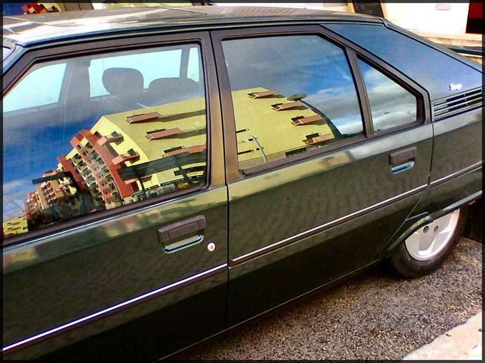 Wie Dazumal...altes Auto.