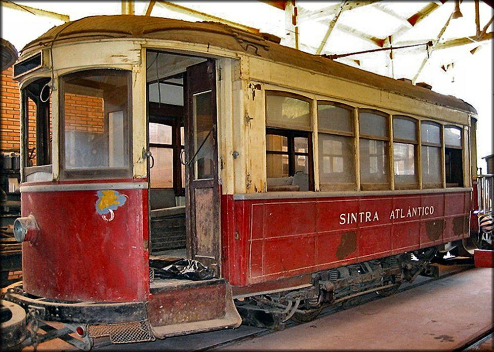 Wie Dazumal...altes Straßenbahn.