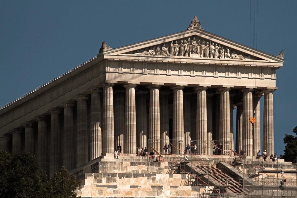wie der Parthenon...