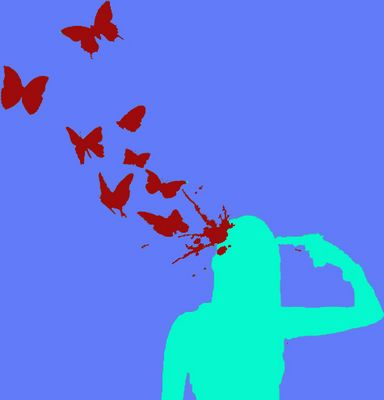 Wie der Tod Schmetterlinge bringt...