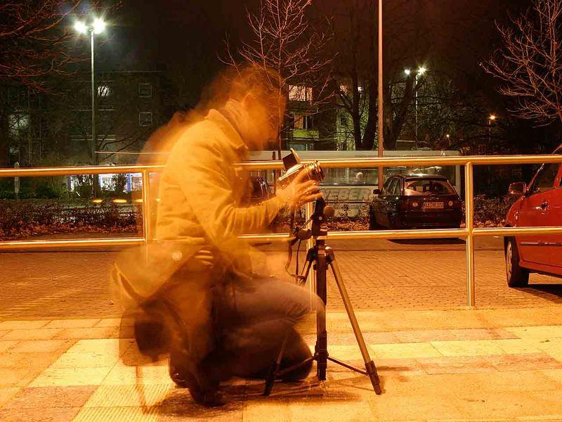 wie ein fotograaf sich bewegt
