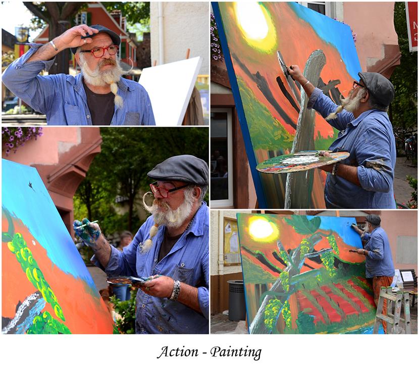Wie ein Gemälde entsteht