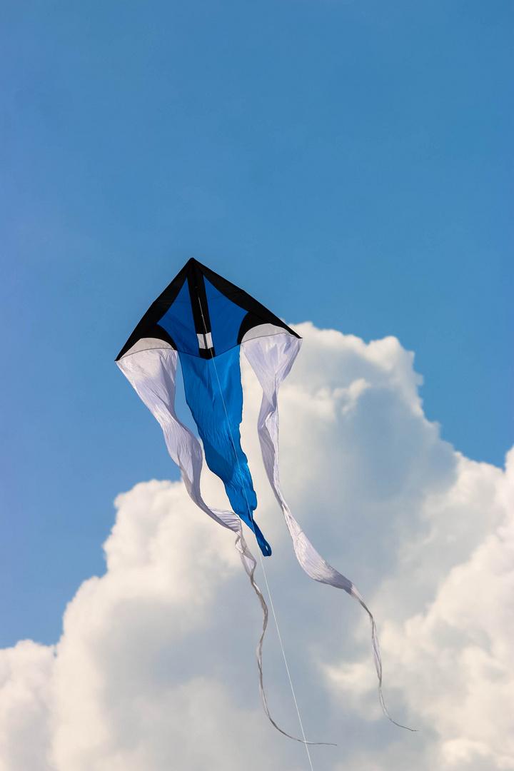 wie ein Phönix aus den Wolken