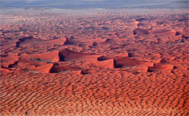 Wie ein Sandgemälde