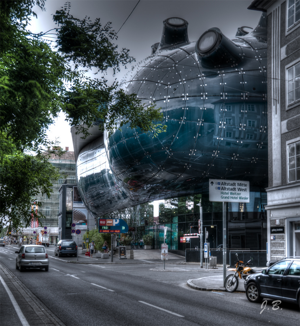 Wie ein Sci-Fi-Film-Szene! - Die Kunsthalle Graz