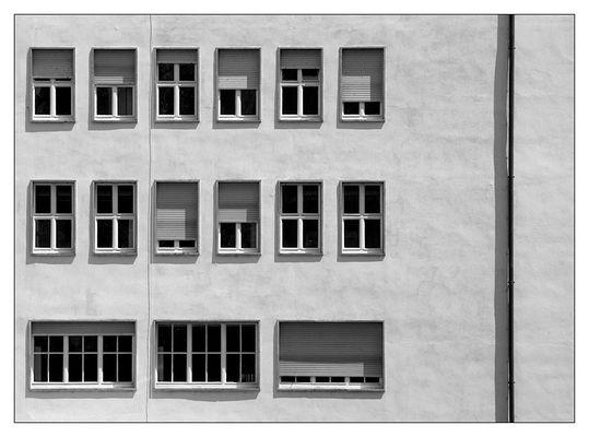 wie Fenster auf Papier