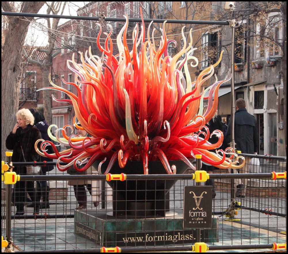 Wie Feuer un d Flamme
