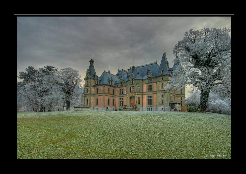 Wie im Märchen Schloss Schadau in Thun
