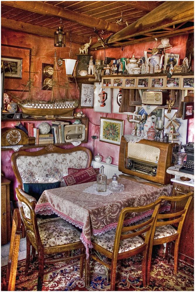 Wie in Omas Wohnzimmer...