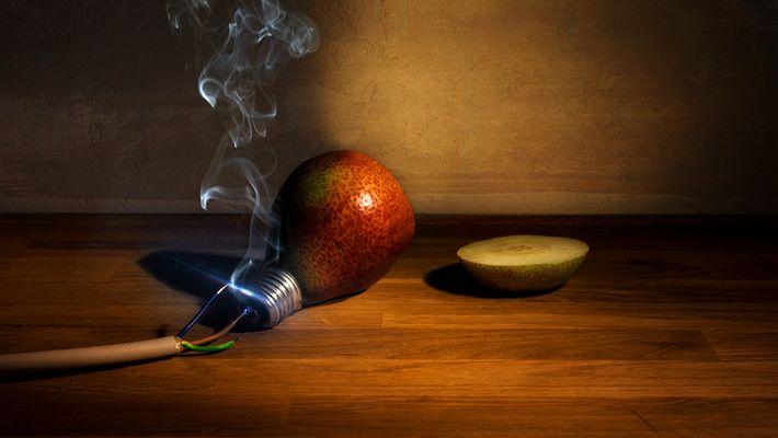 Wie man eine Birne zum Leuchten bringt