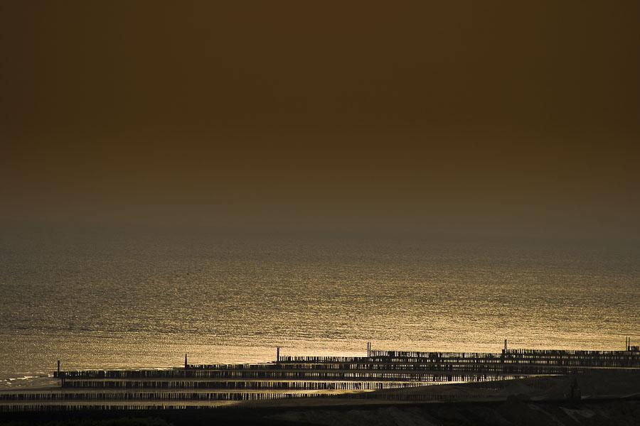wie nadeln am strand